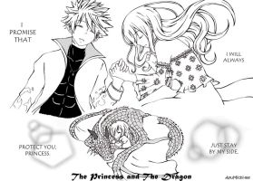 The Princess and The Dragon (NaLu doujin) by AyuMichi-me
