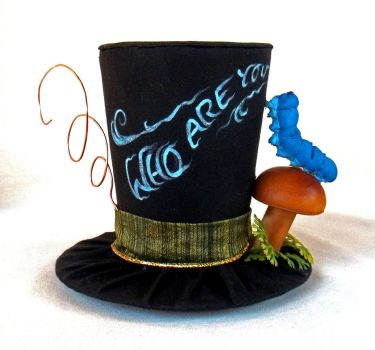 Tiny Top Hat: The Caterpillar-Alice in Wonderland by TinyTopHats