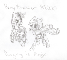 PonyHammer40k Purging is Magic by Originalham