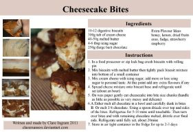 Cheesecake Bites Recipe by claremanson