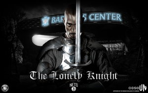 Kevin Garnett The Lonely Knight by vndesign