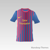 FC Barcelona T-Shirt Vector by Mandeep2u