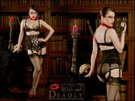 Kiss Me Deadly - Alouette by ladymorgana