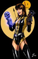 Silk Spectre from Watchmen by pandacolor