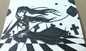 Black Rock Shooter by Debi-Cristy