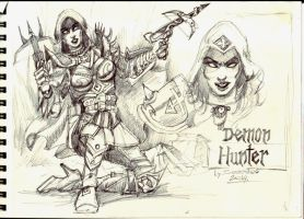 Demon Hunter by Sedeslav