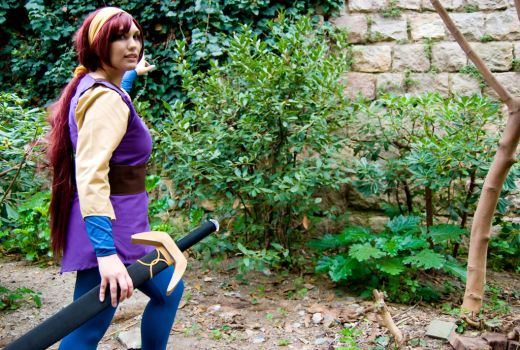 Kayley - Quest for Camelot - by Thara-Wood