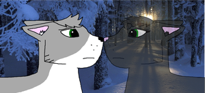 Mouse X Holly- Difficult by warriorcat-twd-aj
