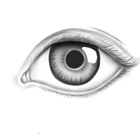 Realistic Eye by Appletumble