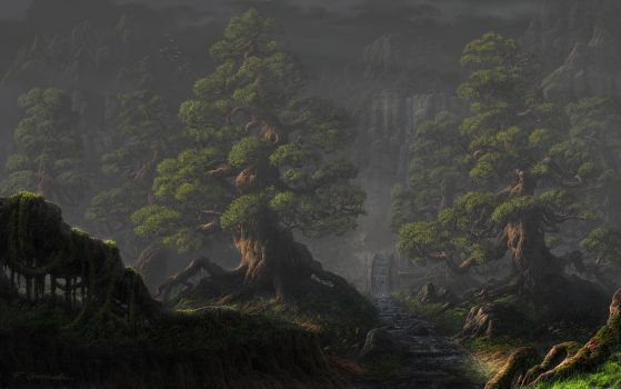 Old Trees by Fel-X