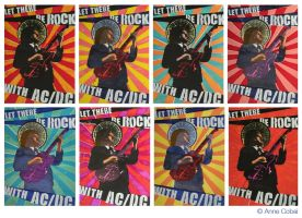 ACDC Posters by theyellowcoyote