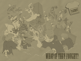 What if the fought? by jdstone