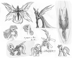 Sketch dump by Underpable