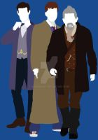 The Day of the Doctor - Doctor Who by HaddonArt