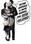 Retro Couple PNG by AbsurdWordPreferred