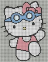 Hello Kitty Pattern by KittyBywaters