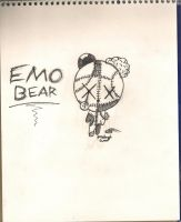 Emo Bear by K2BunnyStyleFan