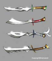 Power Swords Concept by mansarali