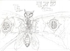 Mothra by CreatureLord