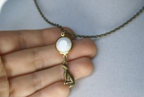 Remus Lupin Necklace by MonsterBrandCrafts