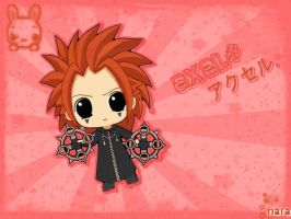 Axel by akemii-chan