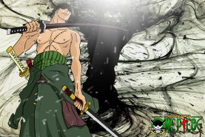 Zoro Black Thread-Great Whirl by DrLinuX