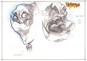 CHARACTER DESIGN -the monster2 by biroons