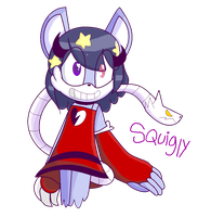 squigly the mosnter cat by Sorami23