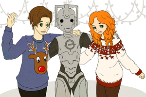 A Whovian Christmas by kimirawrr