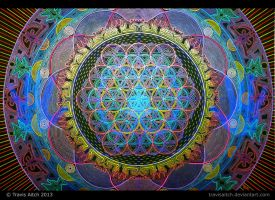 Mandala Abhasa (Holographic - Bright Lighting) by TravisAitch