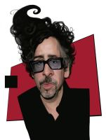 Tim Burton small  copy by Damion009
