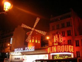 Le Moulin Rouge by mimih