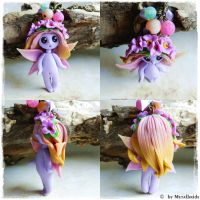 fower fairy necklace by oOMetalbrideOo