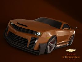 Chevrolet Camaro custom by Gabriel-A-D