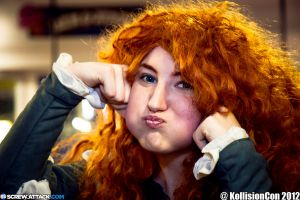 Merida: Puffy Cheek by kanracakes