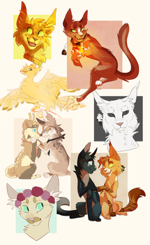 Commission batch by Finchwing