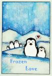 Frozen Love_card by Xanarachne