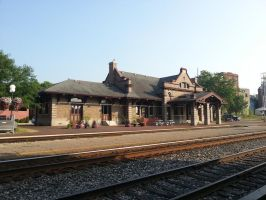 Red Wing train station. by simpspin