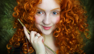 Real Life Disney: Merida by KlairedeLys