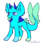 Water creature Adoptable -open- by the-emo-wolf
