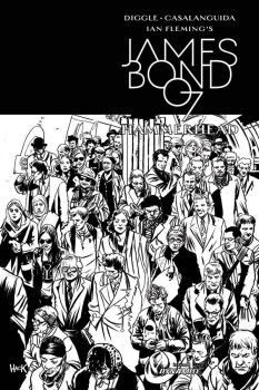James Bond: Hammerhead cover inks by RobertHack