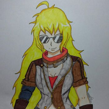 Yang Xiao Long Official Volume 4 Outfit by xzorshio