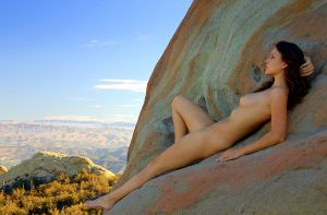 Betcee overlooking her domain, Malibu by OaksImages