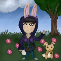 Rachel the Bunny by KittyCatRainbow