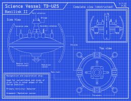 Science Vessel Blueprints No.1 by Schiaff