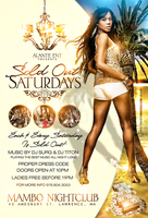Sold Out Saturdays New flyer by DeityDesignz