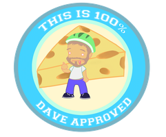 100% Dave Approved by AnnaKlava
