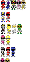 Gokai Changes Ultimate by CamiloSama