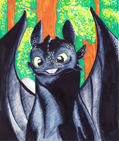 Toothless by Lewis-James