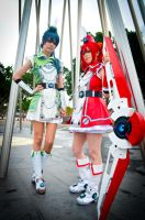 Vividred Operation: Green and Red by RadClawedRaid